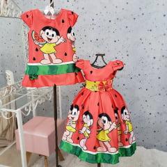 Vestido Casual Magali Vermelho