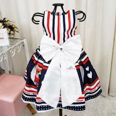 Vestido Festa Infantil Doce Sonho