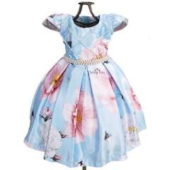 Vestido Festa Infantil Jardim