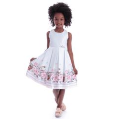 Vestido Festa Infantil Jardim Encantado