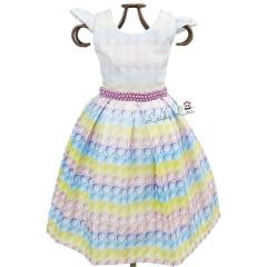 Vestido Festa Infantil Popit