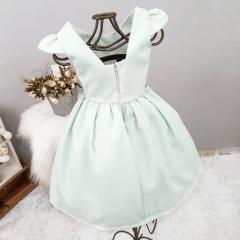 Vestido Festa Infantil Verde Menta