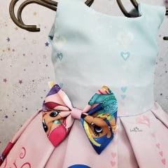 Vestido Festa Shimmer & Shine