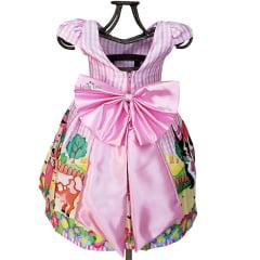 Vestido Festa Infantil Fazendinha
