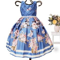 Vestido Menina Festa Luxo
