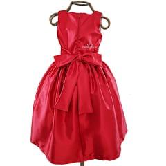 Vestido Menina Festa Vermelho