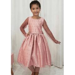 Vestido Festa Infantil Classico