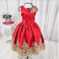 Vestido Vermelho Luxo