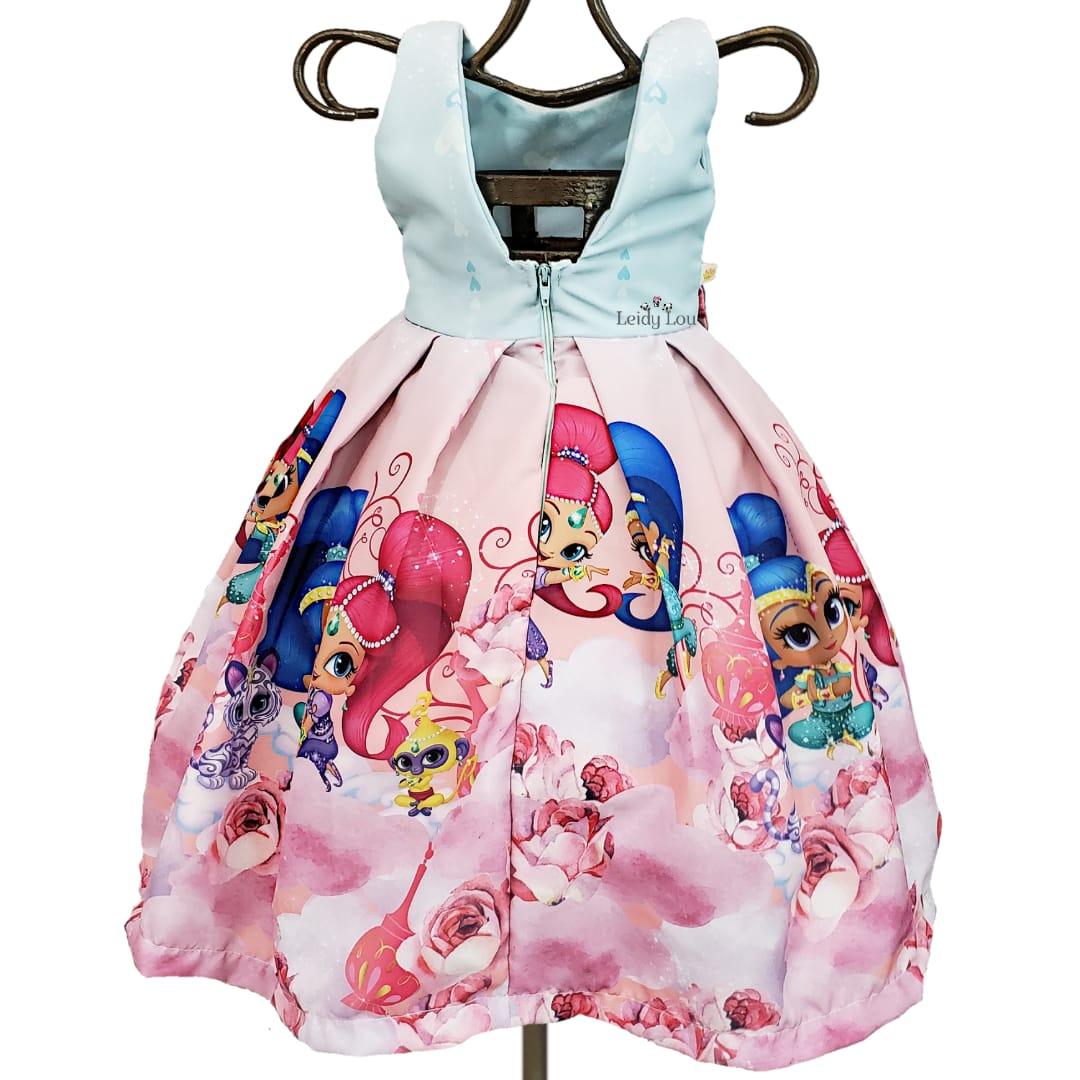 Vestido Festa Infantil