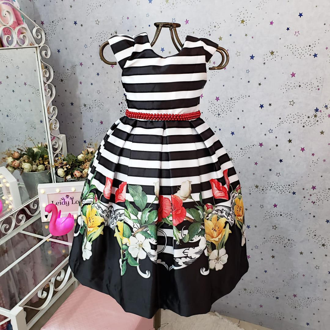 Vestido Festa Infanti